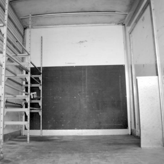 L'intérieur avant les aménagements