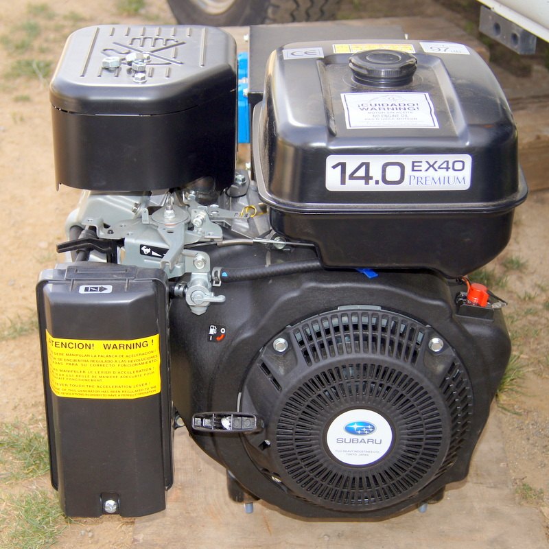 Groupe électrogène, moteur Subaru