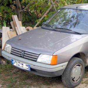 Peugeot 205, s'adapte aux besoins d'un artisan