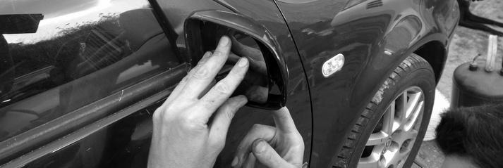 Echange rétroviseur sur Golf VWG